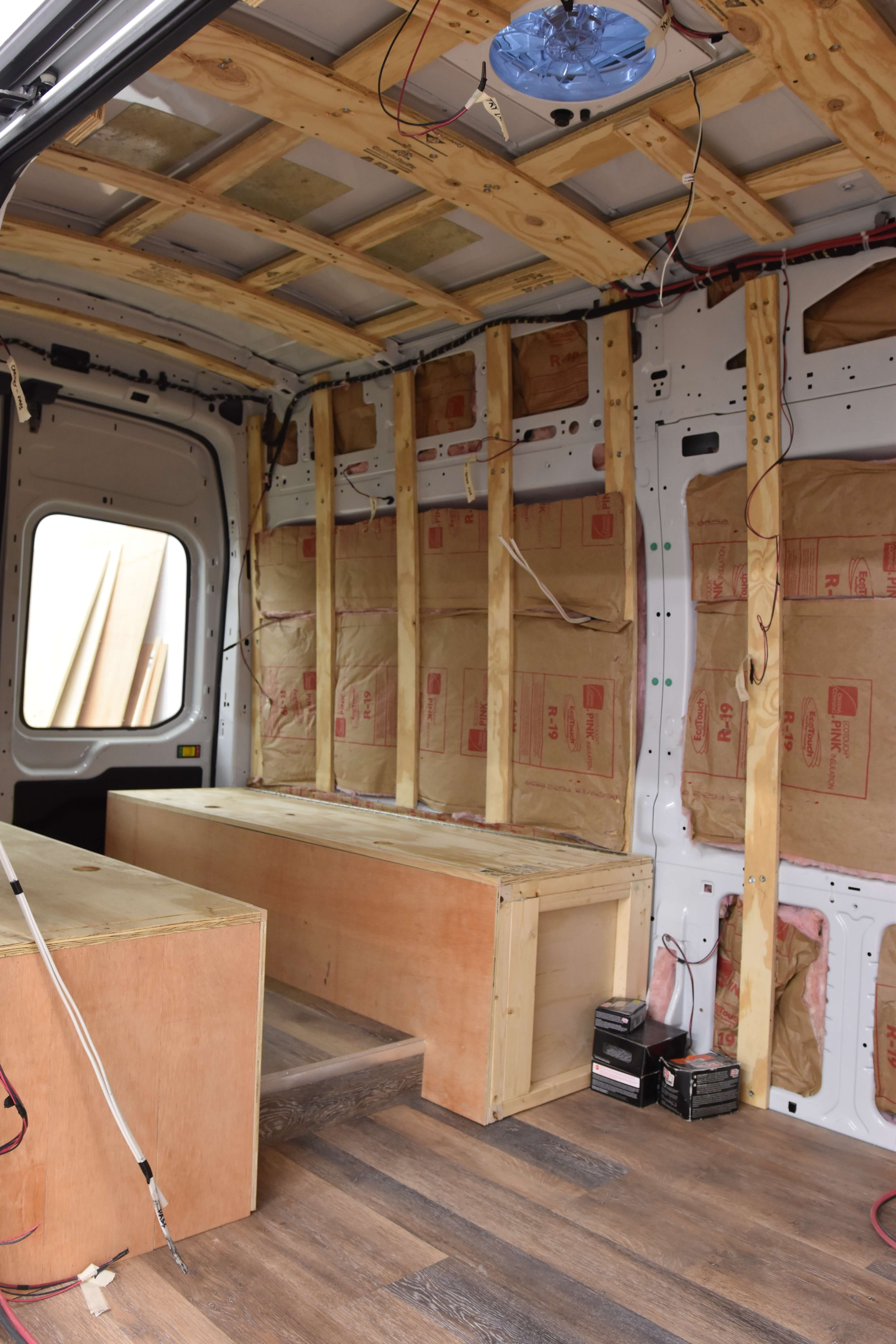 Van Conversion Insulation Divine On The Road